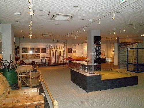 「大森海苔のふるさと館」館内展示(2013年9月19日)3