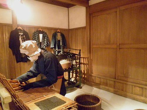 「大森海苔のふるさと館」館内展示(2013年9月19日)1