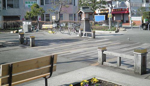 天王町駅前公園(横浜市保土ヶ谷区神戸町)(2014年3月16日)