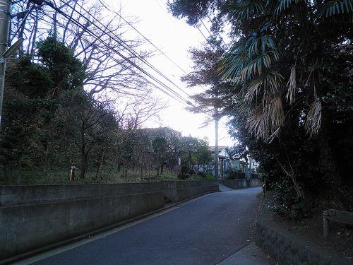 旧東海道・品濃一里塚(横浜市戸塚区平戸4丁目)(2011年12月25日)