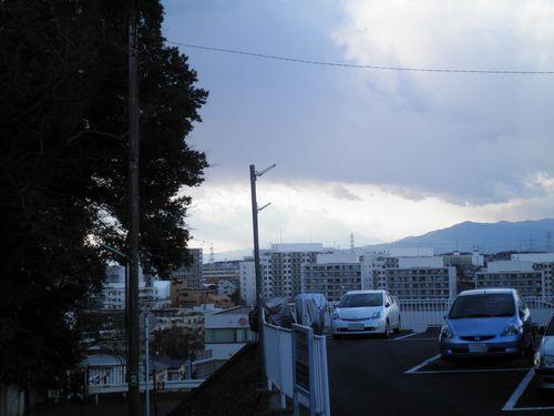 旧東海道・品濃坂(横浜市戸塚区品濃町)(2011年12月25日)