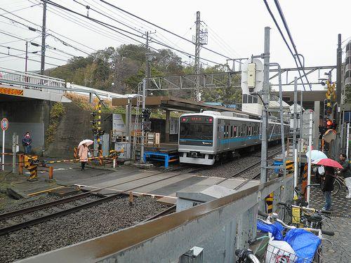 小田急電鉄江ノ島線藤沢本町駅(神奈川県藤沢市)(2014年3月13日)