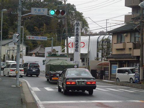 旧東海道戸塚宿~藤沢宿間・大坂下(横浜市戸塚区戸塚町)(2014年3月13日)