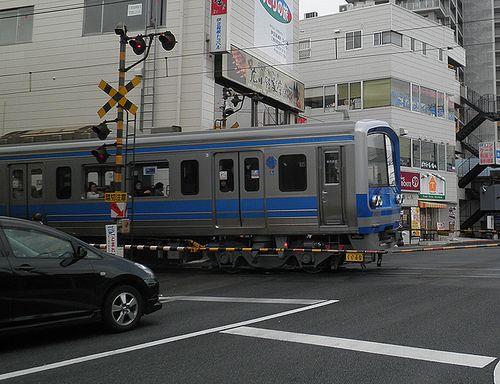 伊豆箱根鉄道3000系(第6編成)(2012年1月29日・三島広小路駅)