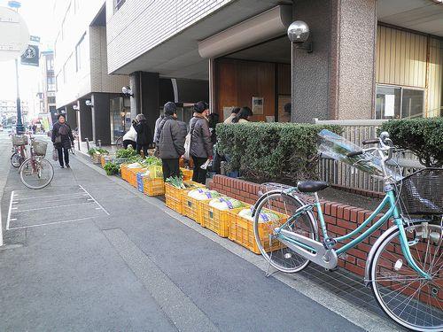 茅ヶ崎市茅ヶ崎1丁目・JAさがみ・朝市(2011年12月29日)
