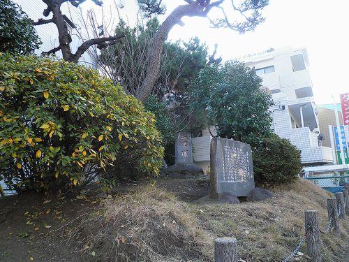 茅ヶ崎市茅ヶ崎1丁目・一里塚跡(2011年12月29日)