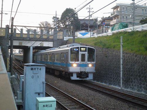 藤沢本町駅・小田急江ノ島線(2011年12月29日)