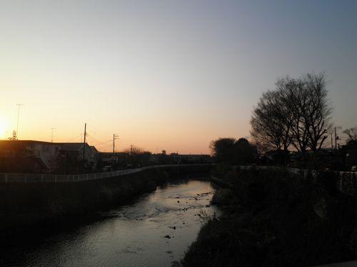藤沢市鵠沼神明4丁目・旧東海道引地橋(2011年12月29日)