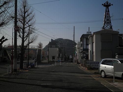 旧東海道平塚宿(平塚市平塚4丁目)(2011年12月29日)