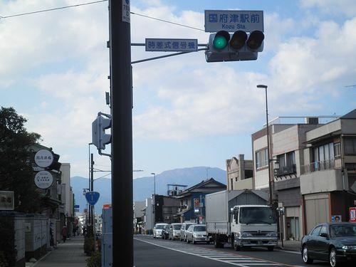 国府津駅前交差点(神奈川県小田原市国府津)(2011年12月31日)
