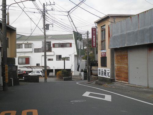 旧東海道(神奈川県中郡二宮町)1(2011年12月31日)