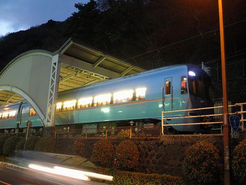小田急電鉄60000系電車「MSE」(箱根湯本駅・2011年12月31日)
