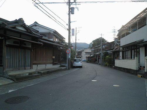 旧東海道・小田原市風祭(2011年12月31日)1