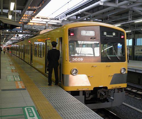 西武鉄道3000系・3009F(2014年4月7日・石神井公園駅)