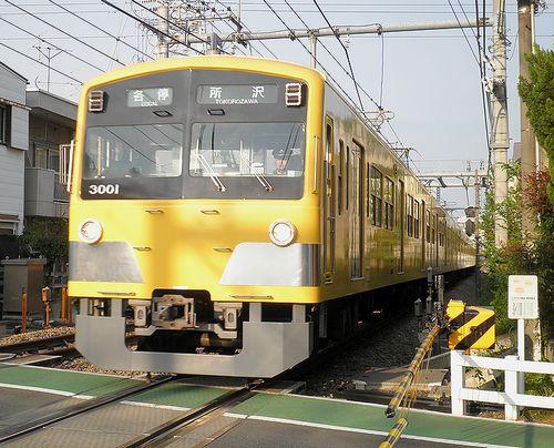 西武鉄道3000系・3001F(2013年4月29日・大泉学園~保谷間)