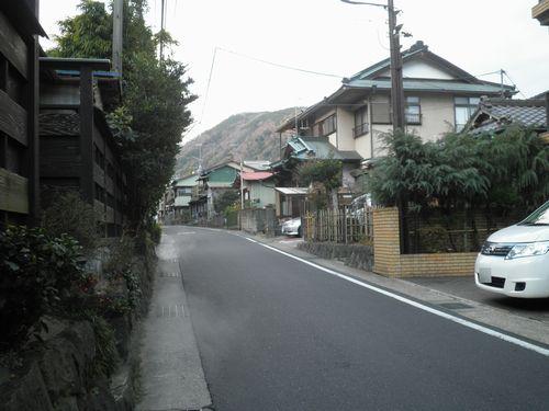 旧東海道・箱根湯本・早雲寺前(2012年1月8日)