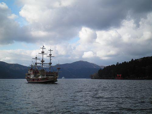 箱根・芦ノ湖海賊船(箱根遊覧船)(2012年1月8日)