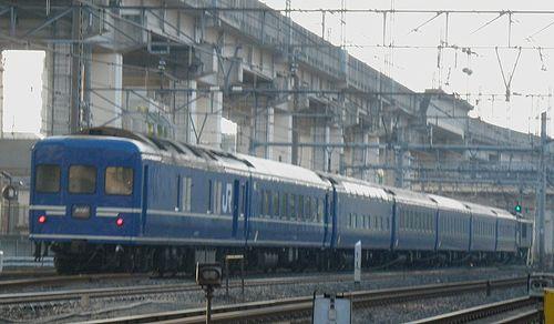 臨時特急「あけぼの」9022列車(王子~東十条間)(2014年4月27日)