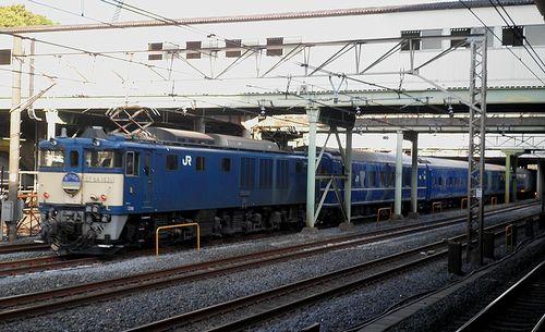 EF64 1031[長岡]牽引・臨時特急「あけぼの」回9022列車(日暮里駅)(2014年4月27日)