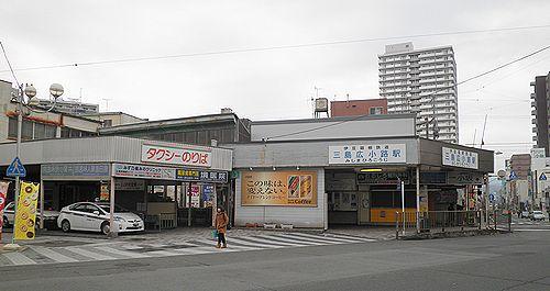 伊豆箱根鉄道駿豆線・三島広小路駅(2012年1月29日)2