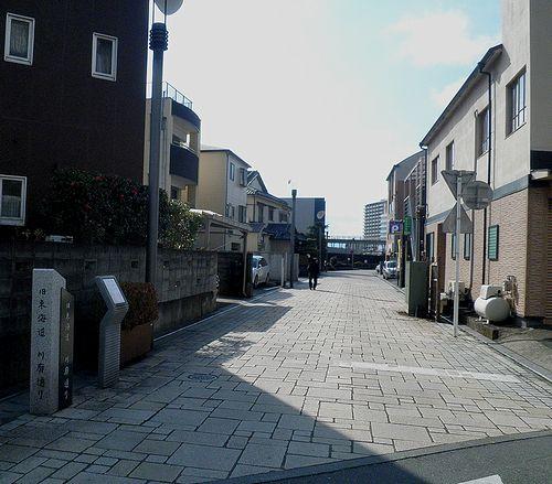 旧東海道・川廓通り(沼津市大手町4丁目)(2012年1月29日)1