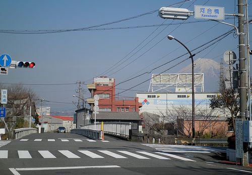 旧東海道・河合橋(富士市鈴川本町)(2012年2月22日)