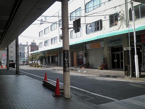 旧東海道・吉原宿「長さん小路」(富士市吉原2丁目)(2012年2月22日)1