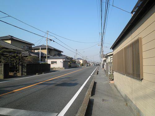 旧東海道・柏原「間の宿」(富士市西柏原新田)(2012年2月22日)