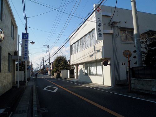旧東海道・原宿(静岡県沼津市原)(2012年1月29日)