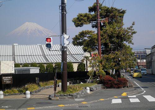 旧東海道・名勝「左富士」(富士市依田橋町)(2012年2月22日)1