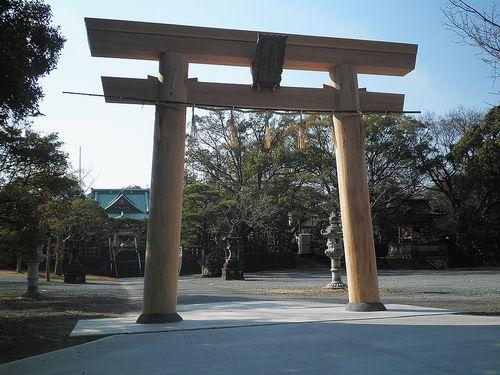 旧東海道・毘沙門天妙法寺(富士市今井2丁目)(2012年2月22日)