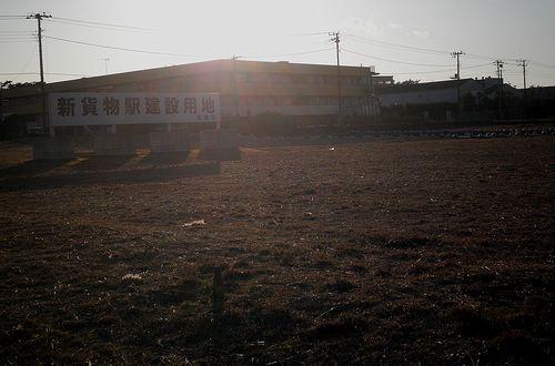 新・沼津貨物駅建設予定地(沼津市植田)(2012年1月29日)2