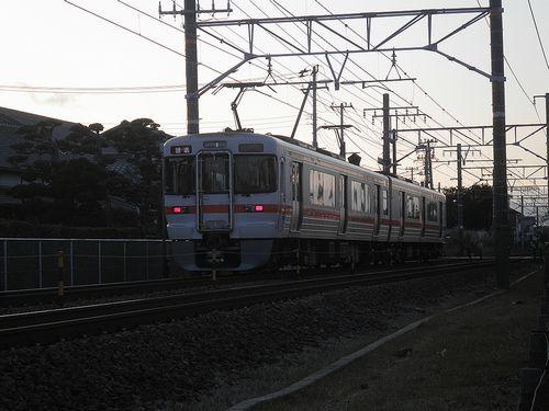 静シス313系3100番代「V14」編成(原~東田子の浦間)(2012年1月29日)