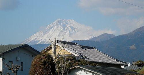 富士山(沼津市西間門)(2012年1月29日)