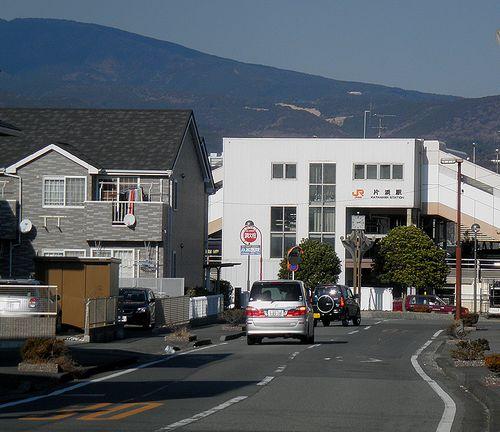 東海道本線片浜駅(静岡県沼津市大塚)(2012年1月29日)