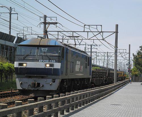 EF210-155[新](新所原~二川間)(2014年5月4日)