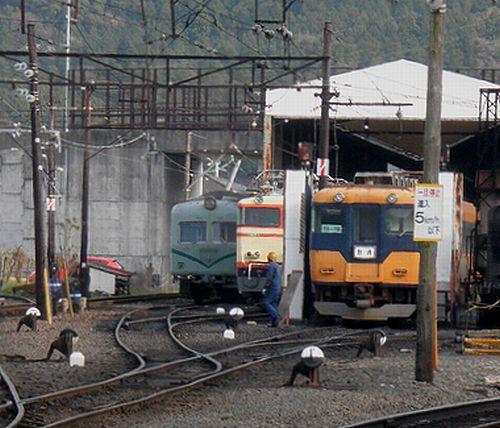 大井川鐵道新金谷車両区(2014年3月29日)