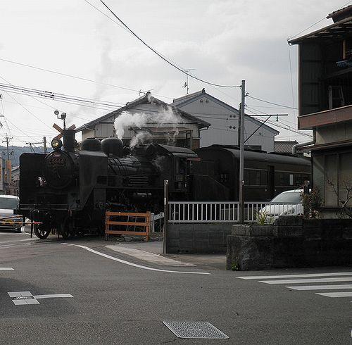 大井川鐵道C56 44(新金谷~代官町間)(2014年3月29日)