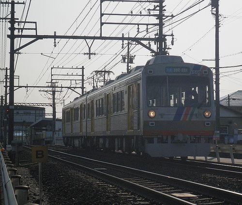 静岡鉄道1509+1009(草薙~県立美術館前間)(2014年3月9日)