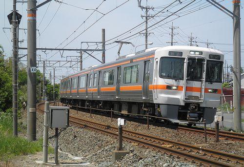 静シス313系「T16」編成(新所原~二川間)(2014年5月4日)