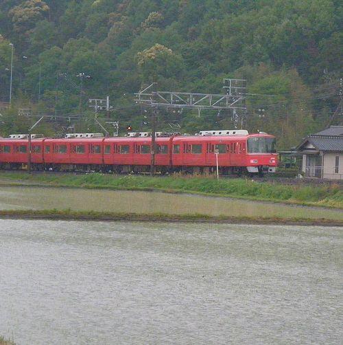 名古屋鉄道3100系(2014年5月5日・名電山中~藤川間)