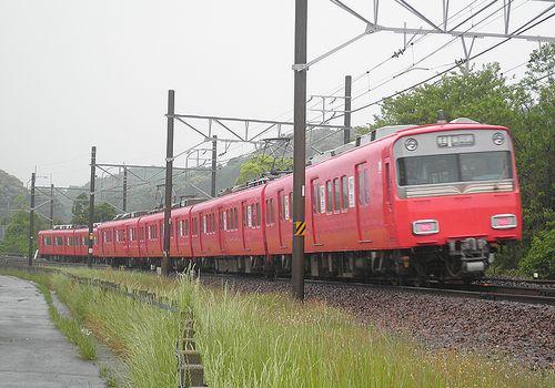 名古屋鉄道6800系(2014年5月5日・名電長沢~本宿間)