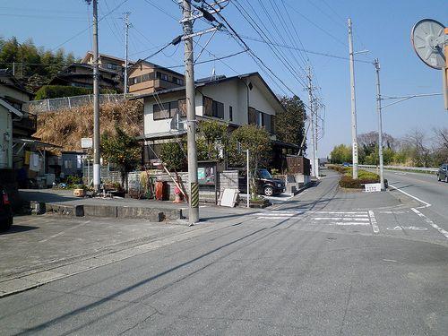 岩淵宿入口(静岡県富士市岩淵)(2014年3月16日)2