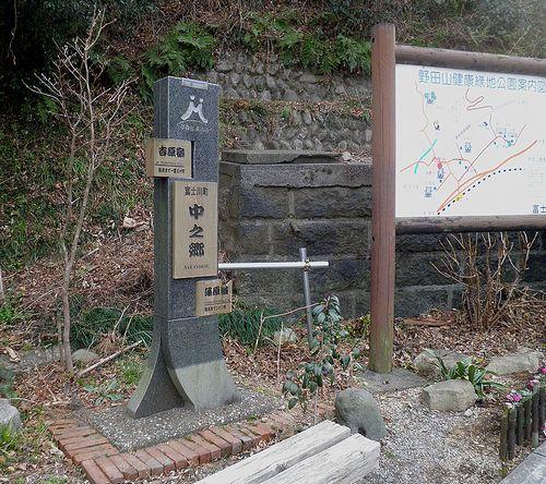 旧東海道・中之郷(静岡県富士市中之郷)(2012年2月22日)2