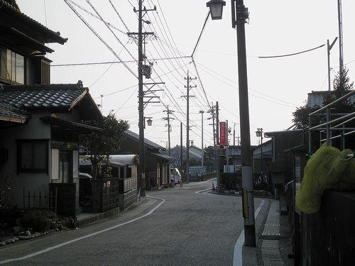旧東海道・蒲原宿(静岡市清水区蒲原)(2012年2月22日)