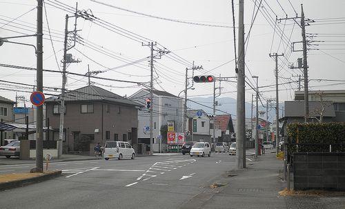 旧東海道・本市場(静岡県富士市蓼原町)(2012年2月22日)2