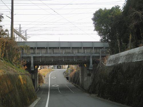 旧東海道・中之郷(静岡県富士市中之郷)(2012年2月22日)4