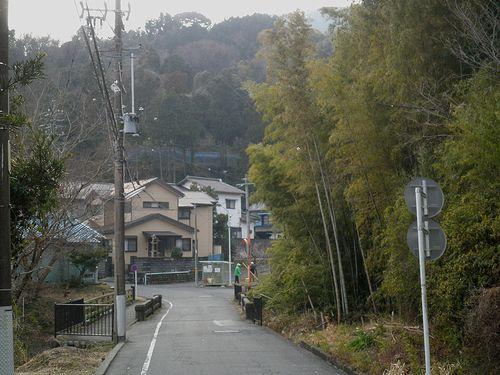 旧東海道・中之郷(静岡県富士市中之郷)(2012年2月22日)3