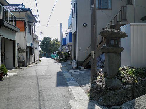 旧東海道岩淵宿(静岡県富士市岩淵)(2014年3月16日)1