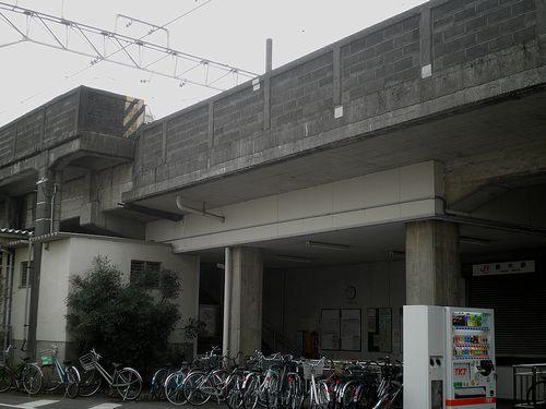 身延線柚木駅(静岡県富士市柚木)(2012年2月22日)2